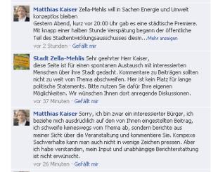 Screenshort der Facebook-Seite von Zella-Mehlis